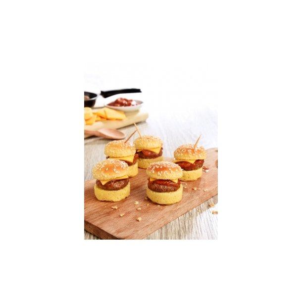Mini CheeseBurgers ca. 15 gr (2 x 20 stk )