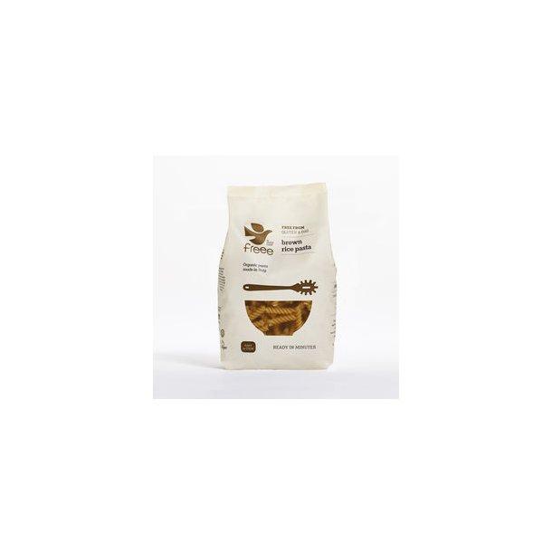 Glutenfri fuldkorns rispasta Fusilli, øko, - 500 gr
