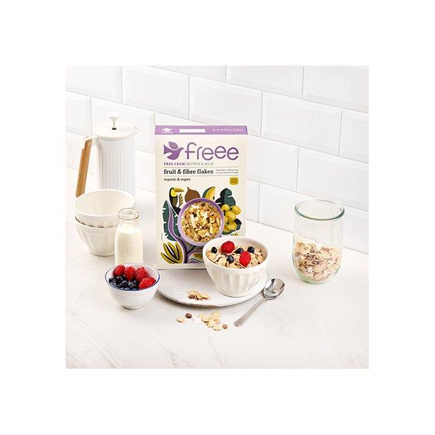 Fruit & fibre flakes glutenfri økologisk