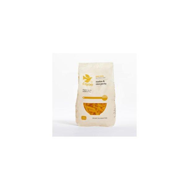 Glutenfri majs & ris pasta fusili, øko -  500 gr