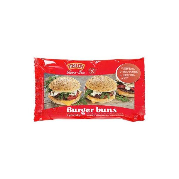Glutenfri Hamburgerbrød OBS: SENDES IKKE MED FRAGTMAND - KUN AFHENTNING I RIBE