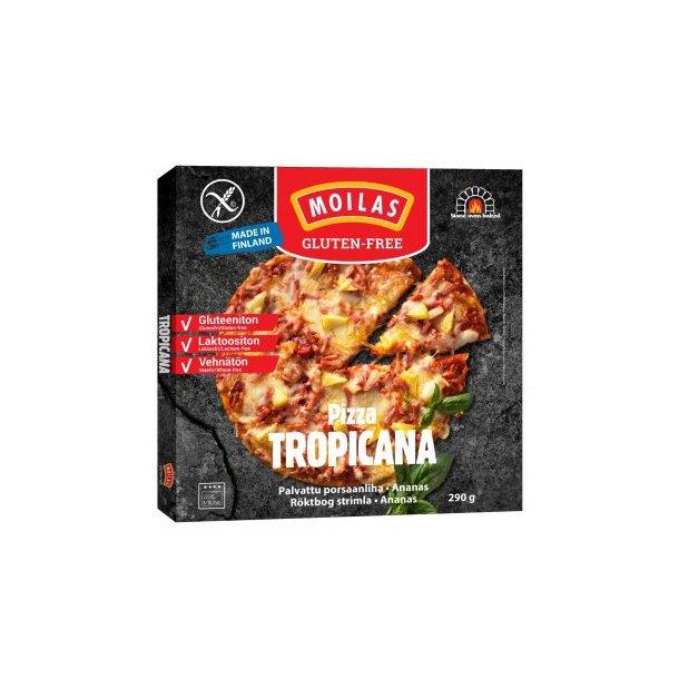 Pizza Tropicana glutenfri 290 gr OBS: SENDES IKKE MED FRAGTMAND - KUN AFHENTNING I RIBE