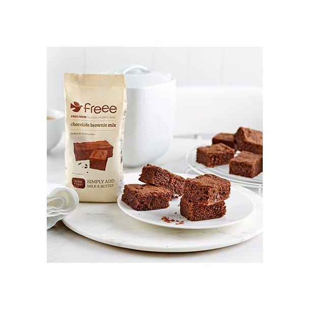 Chokolade Browniemix glutenfri