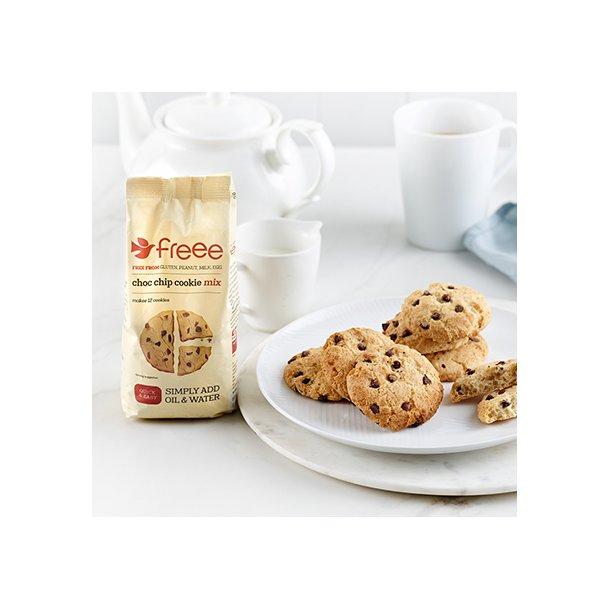 Glutenfri Choc Chip cookiemix glutenfri