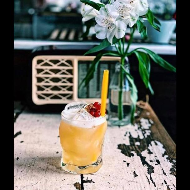 BIO Cocktail sugerør Glutenfri/Øko/100% bionedbrydelig af Majs pasta ca. 19 cm lang Ø 5-8 mm