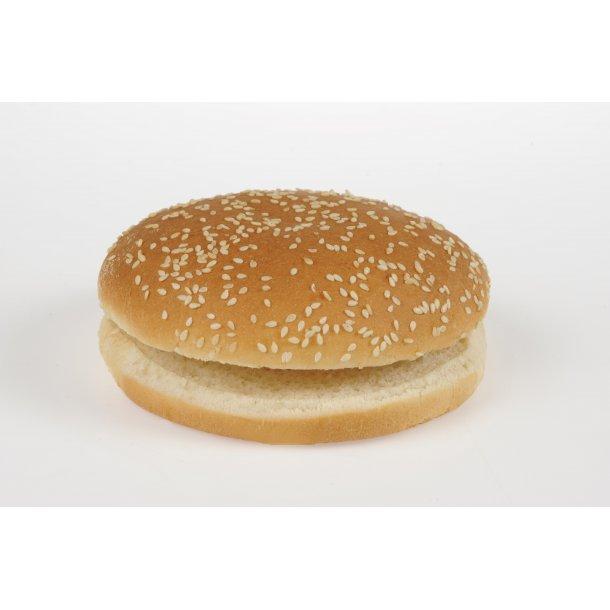 Hamburger bolle, skåret 4x12x55 gr. krt.