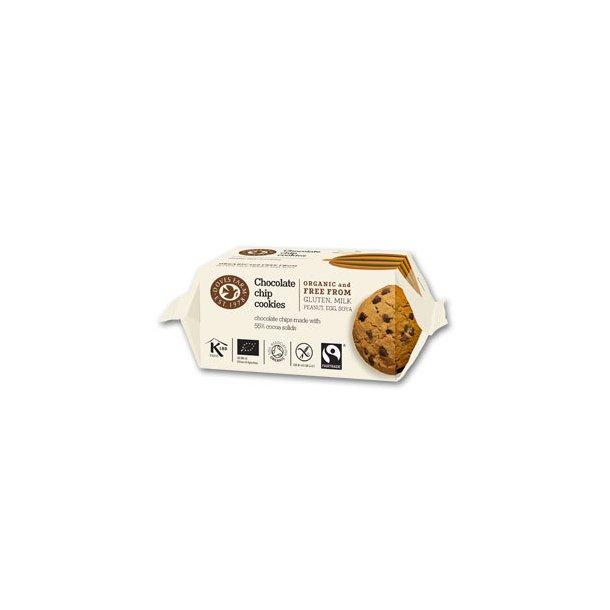 Chocolate chip cookies GF Øko - 180 gr.