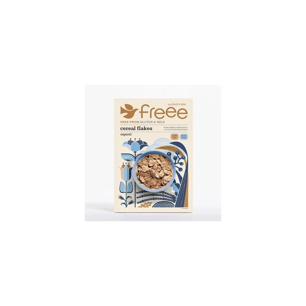 Cereal-flakes glutenfri, økologisk - 375 gr