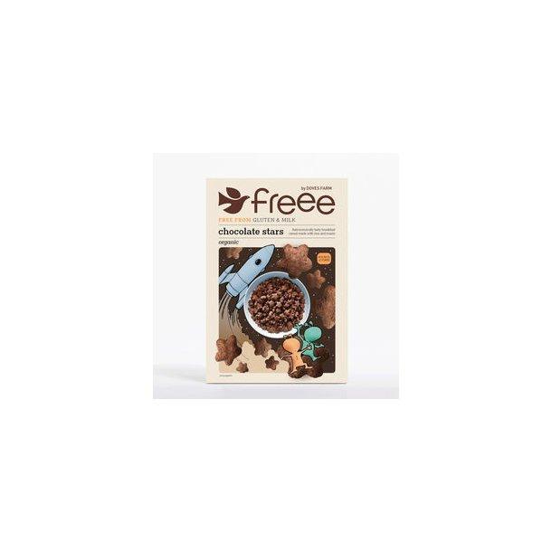 Chocolate stars - glutenfri, økologisk - 300 gr