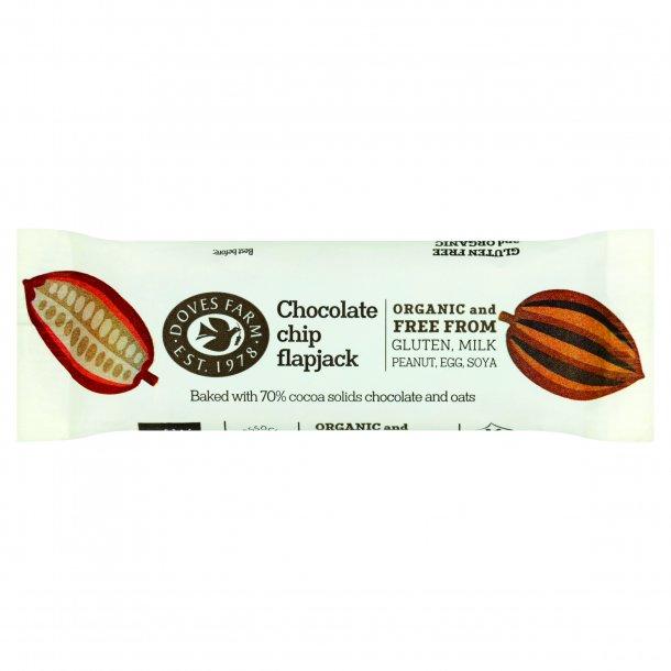 FlapJack med chocolate chip glutenfri, Øko - 35 gr