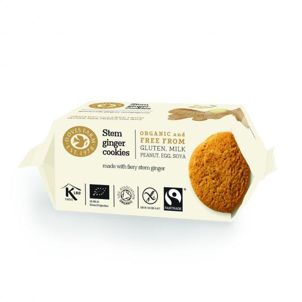 Ingefær cookies glutenfri, Øko - 150 gr.