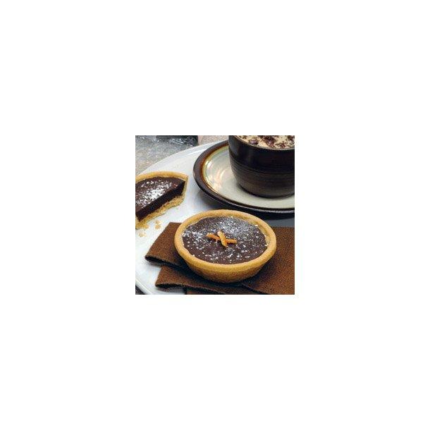 Glutenfri Choc/orange tærte, 85 gr. x 18 stk