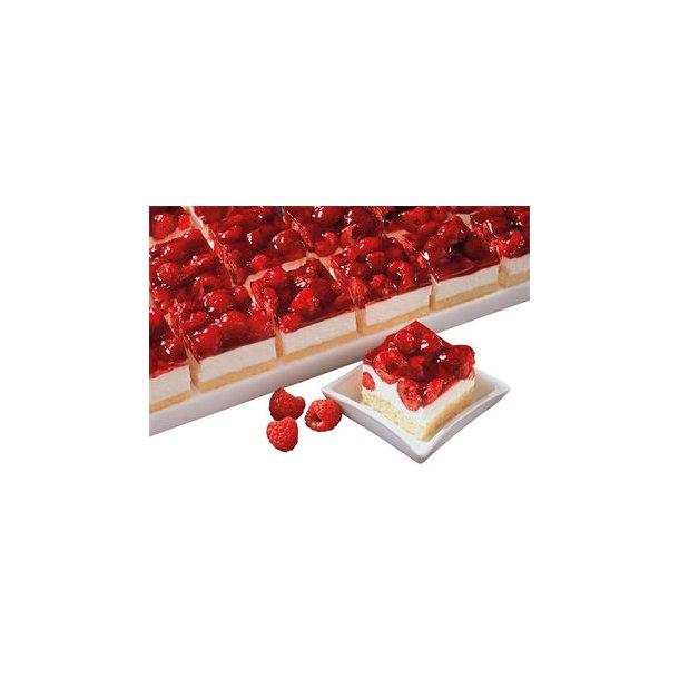 Hindbær & kvark minisnitte 6x1100 gr./krt
