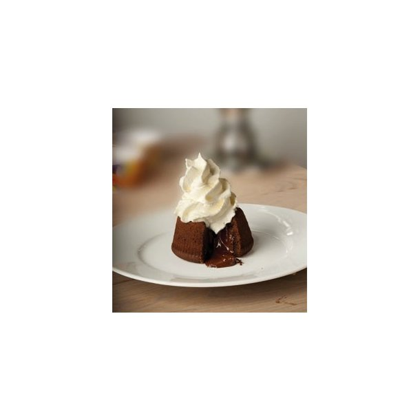 Italiensk chokoladesoufflé