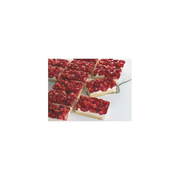 Jordbær-yoghurtsnitte 6x1350 gr./krt,