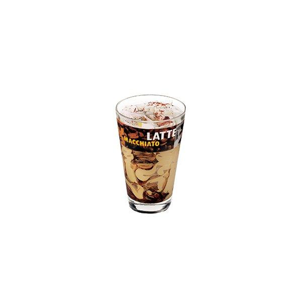 Latte Macchiato italiensk is