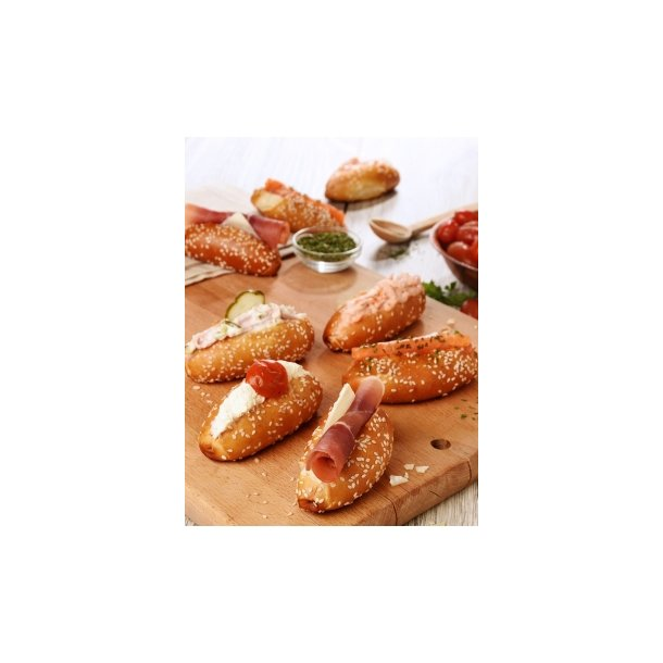 Mini navettes bretzels - ass fyld (1 x 21 stk.ca. 14 gr/stk)