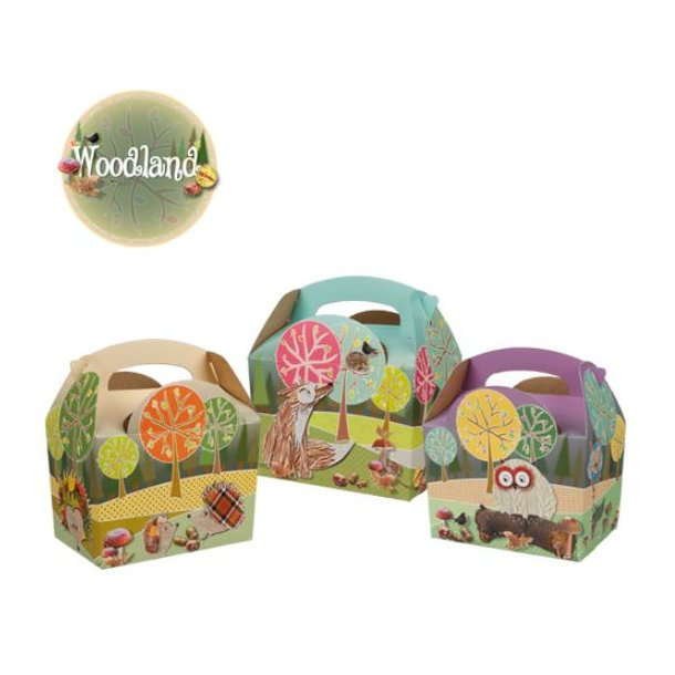 Mealbox Woodland - 250 stk